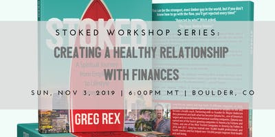 Creating a Healthy Relationship with Finances & live book signing
