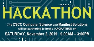 2019 Columbus State & Manifest Solutions Student HACKATHON