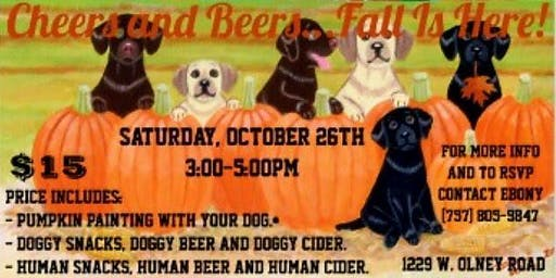 Cheers and Beers Fall is Here!