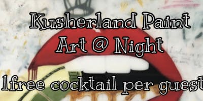 Art At Night-Sip Paint & Puff