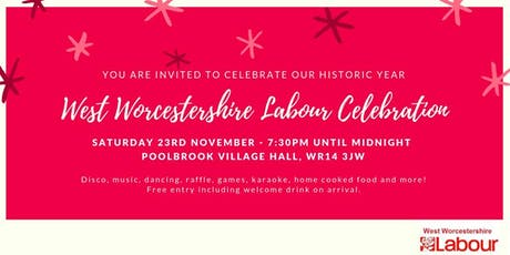 West Worcestershire Labour Celebration  tickets