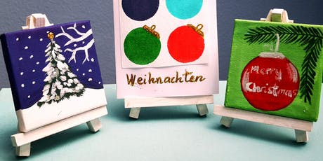 """Artbrunch """"Adventsdeko"""" im Atelier  Bad  Soden Tickets"""