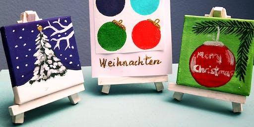 "Artbrunch ""Adventsdeko"" im Atelier  Bad  Soden"