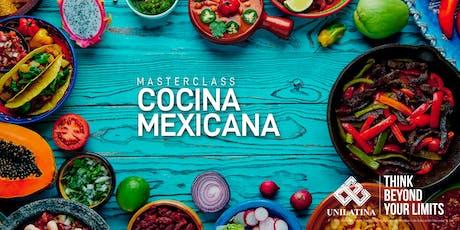 Master Class Cocina Mexicana entradas