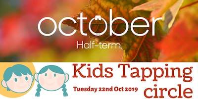 Kids tapping circle - Autumn Half Term