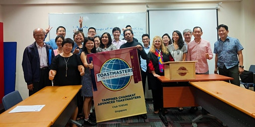 Tampines Changkat Advanced Toastmasters 10th year Anniversary Dinner