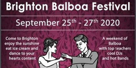 Brighton Balboa  Festival 2020 tickets
