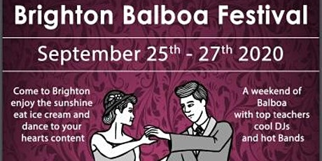 Brighton Balboa  Festival 2020 tickets