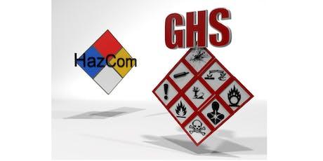 Hazard Communication (HAZCOM)Training Course tickets