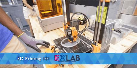 3D Printing 101 - EXLAB - Atlanta tickets