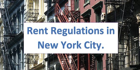 New Rent Regulations - What You Need To Know tickets