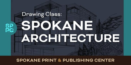 Drawing Class:  Spokane Architecture