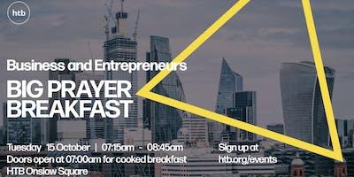 The HTB Business and Entrepreneurs Big Prayer Breakfast