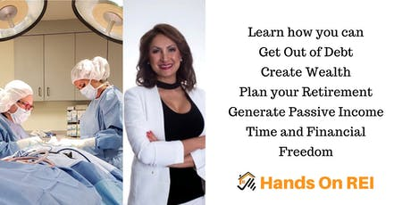 Go to work whenever you feel like it - free yourself with Real estate Investing & Creating Wealth tickets