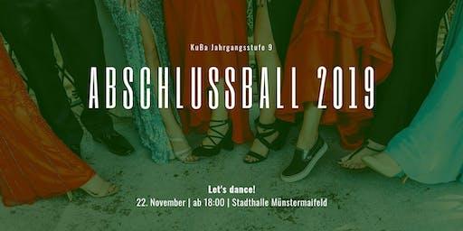 Abschlussball der 9er Jahrgangsstufe -2019-
