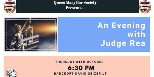 An evening with Judge Rea