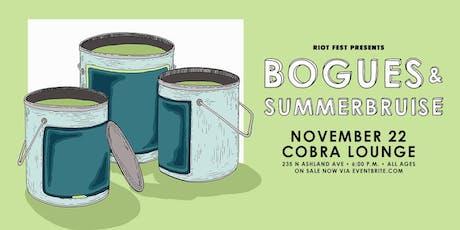 Bogues tickets