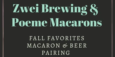 Fall Favorites Macaron and Beer Pairing