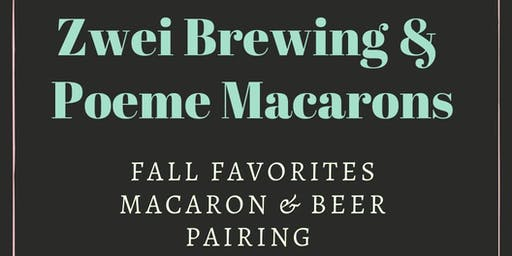 Fall Favorites Macaron and Beer Pairing