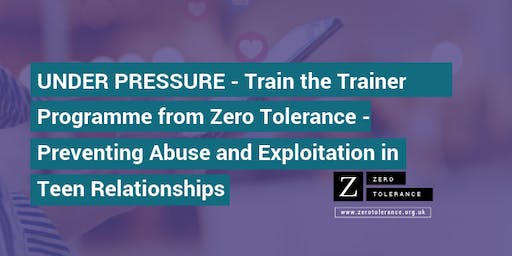 Under Pressure Training for Trainers - Edinburgh