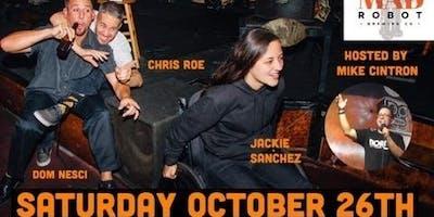 MRBC Comedy Night Presents: Top Shelf Comedy Tour! 8pm Show