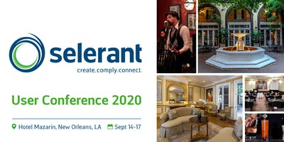 Selerant User Conference 2020