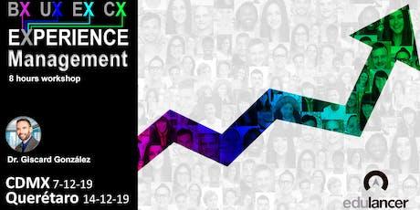 Taller de innovación en Diseño de Experiencias - CDMX boletos