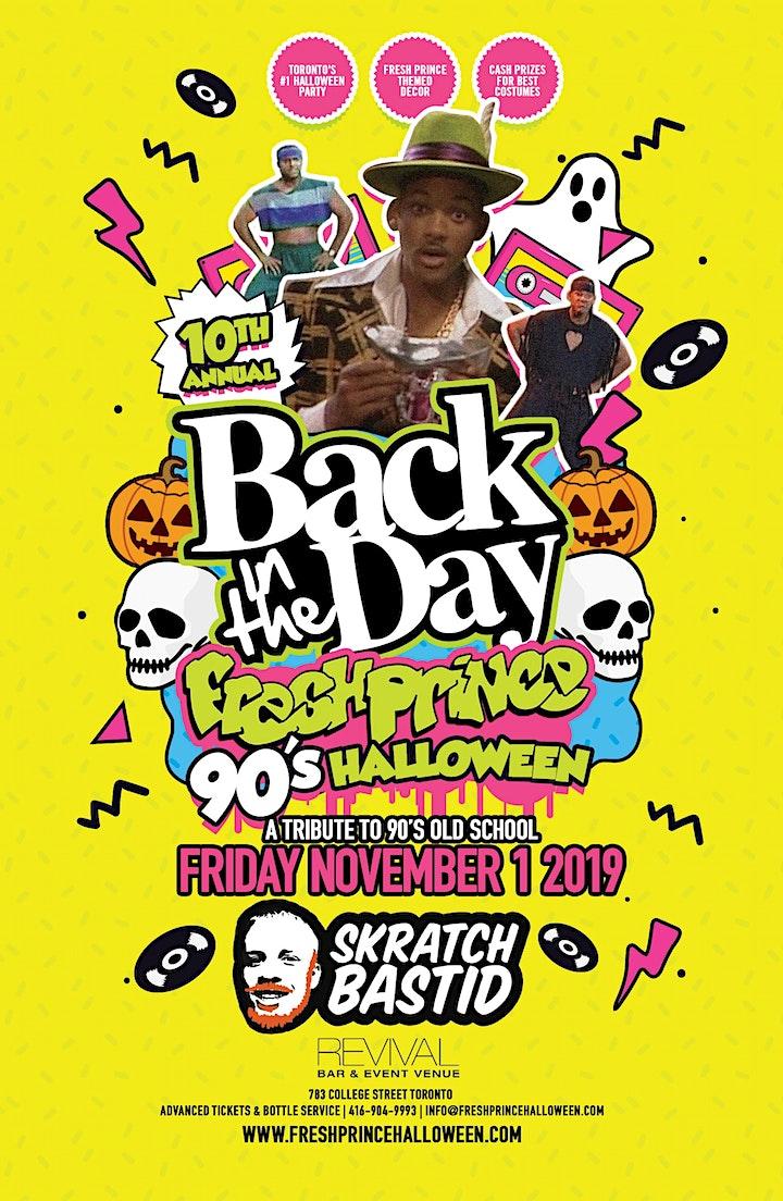 Fresh Prince 90's Halloween w/ Skratch Bastid image