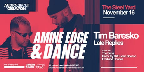 Audio Circuit x Oblivion w/ Amine Edge & DANCE tickets