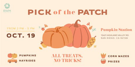 Pick of the Patch   Free Pumpkins, Hayrides, and Corn Mazes tickets