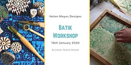 Batik Workshop tickets