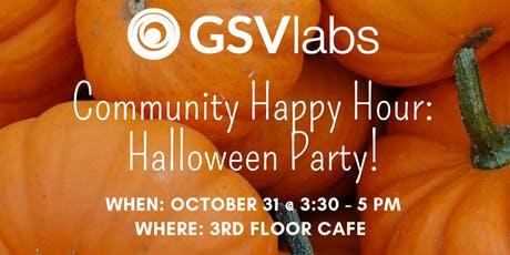 GSVlabs Community Happy Hour tickets