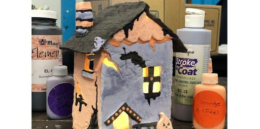 Haunted House Art Lab  (2019-10-19 starts at 3:00 PM)