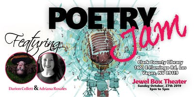 POETRY Jam and Open Mic Darion Collett & Adriana Rosales