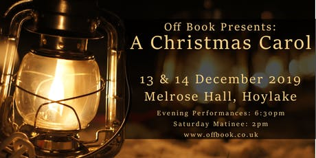 Off Book's 'A Christmas Carol' tickets