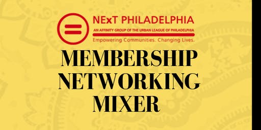 NExT Membership Networking Mixer