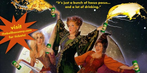 A Drinking Game NYC presents Hocus Pocus