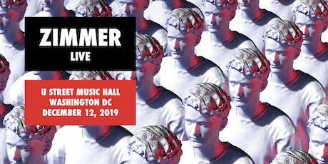 Zimmer (live) tickets
