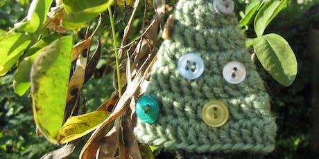 Not Quite a Beginner Crochet | Crocheted Christmas Tree Decoration tickets