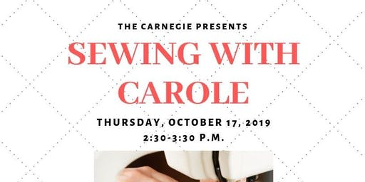 Sewing with Carole