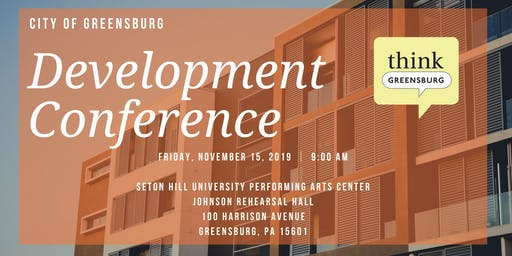 City of Greensburg Development Conference