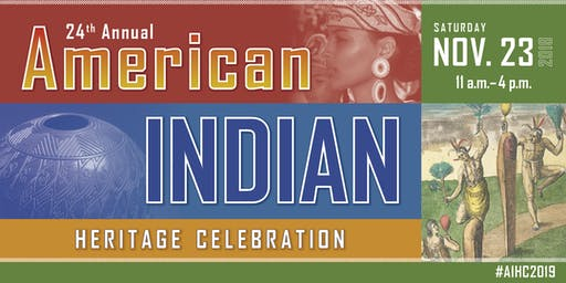 24th Annual American Indian Heritage Celebration