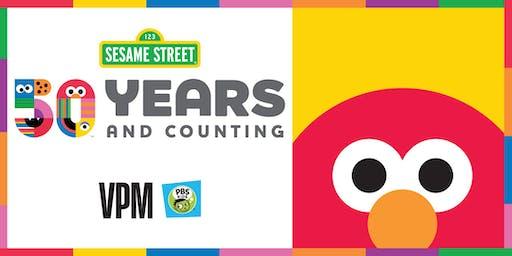 Celebrate with Elmo!  50th Anniversary of Sesame Street!