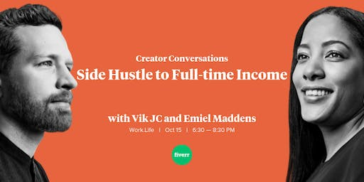 Creator Conversations: Side Hustle to Full-time Income