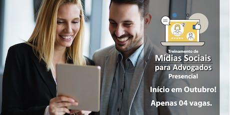 Treinamento de Mídias Sociais para Advogados ingressos