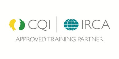 CQI and IRCA ISO 9001:2015 Internal Auditor