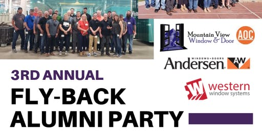 3rd Annual Fly-Back Alumni Party