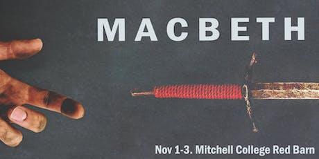 Macbeth (Saturday Special Dinner Performance) tickets