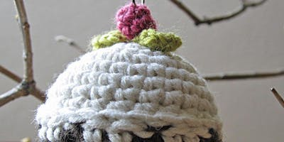 A Bit More Advanced Crochet | Crocheted Christmas Pud Bauble