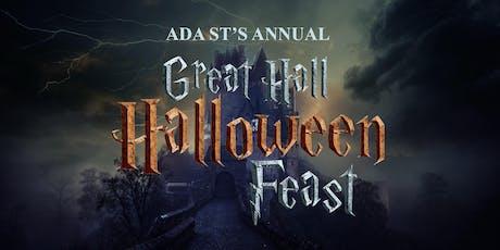 Ada St.'s Annual Great Hall Halloween Feast tickets